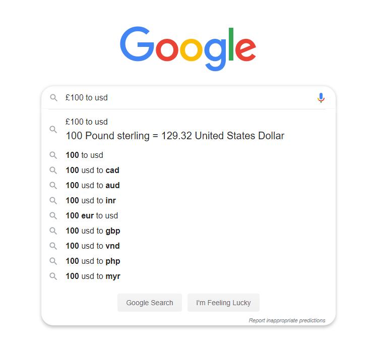 Zero Click Result In Predictive Search